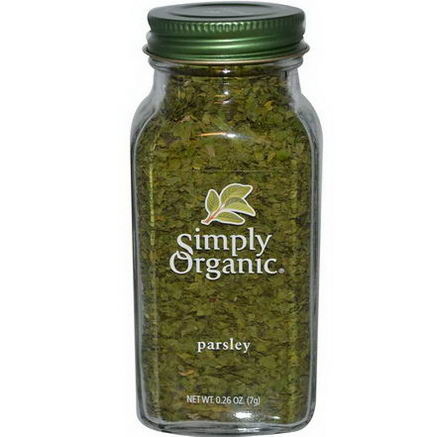 Simply Organic, Parsley, 0.26oz (7g)