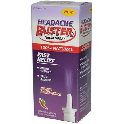 Sinus Buster, Headache Buster Nasal Spray, 0.68 fl oz (20 ml)