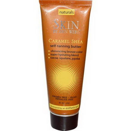 Skin By Ann Webb, Self-Tanning Butter, Caramel Shea, 4 fl oz