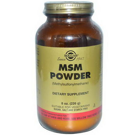 Solgar, MSM Powder, 8oz (226g)