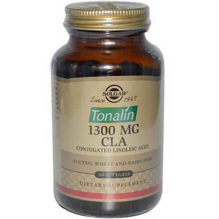 Solgar, Tonalin CLA, 1300mg, 60 Softgels