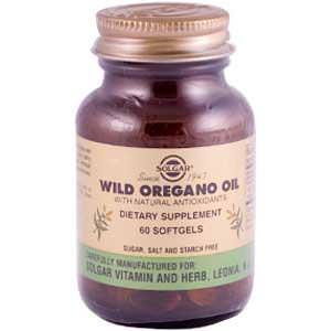 Solgar, Wild Oregano Oil, 60 Softgels