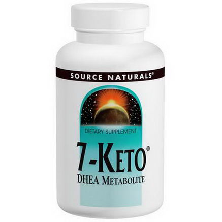 Source Naturals, 7-Keto, DHEA Metabolite, 100mg, 30 Tablets