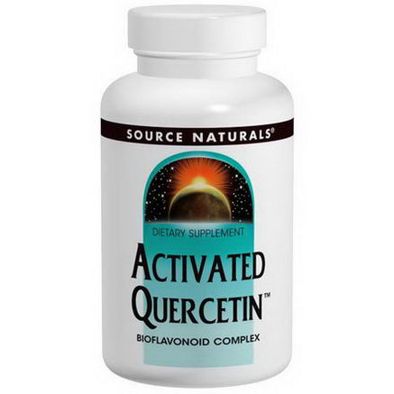 Source Naturals, Activated Quercetin, 200 Capsules