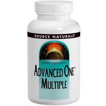 Source Naturals, Advanced One Multiple, 60 Tablets