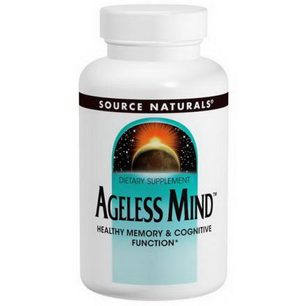 Source Naturals, Ageless Mind, 60 Tablets