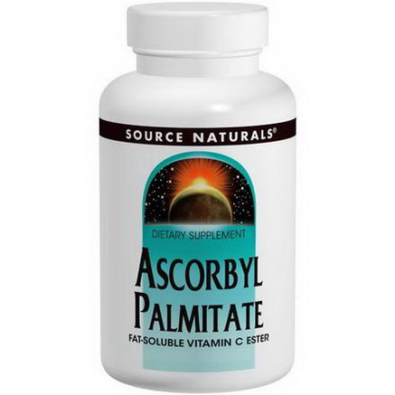Source Naturals, Ascorbyl Palmitate, 500mg, 90 Capsules