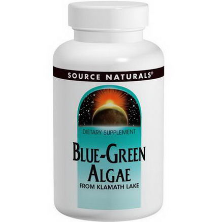 Source Naturals, Blue-Green Algae Powder, 4oz (113.4g)