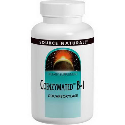 Source Naturals, Coenzymated B-1, 60 Tablets