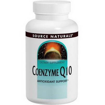 Source Naturals, Coenzyme Q10, 100mg, 60 Capsules
