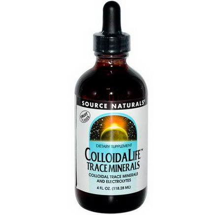 Source Naturals, ColloidaLife Trace Minerals, Fruit Flavor, 4 fl oz (118.28 ml)