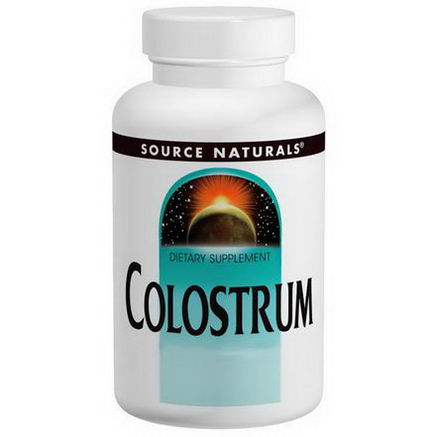 Source Naturals, Colostrum, 650mg, 60 Tablets