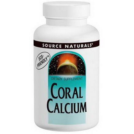 Source Naturals, Coral Calcium, 600mg, 120 Tablets