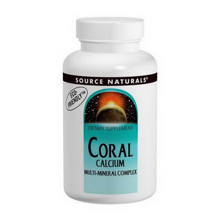 Source Naturals, Coral Calcium, Multi-Mineral Complex, 120 Tablets