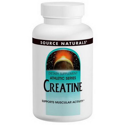 Source Naturals, Creatine, 1, 000mg, 100 Tablets