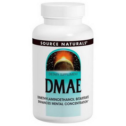Source Naturals, DMAE, 351mg, 200 Tablets