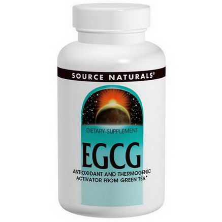 Source Naturals, EGCG, 350mg, 60 Tablets
