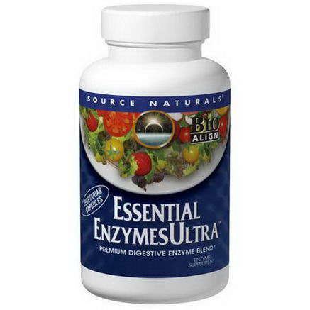 Source Naturals, Essential Enzymes Ultra, 90 Capsules