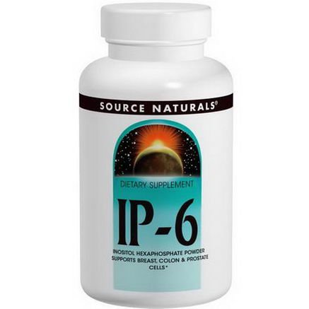 Source Naturals, IP-6, Inositol Hexaphosphate Powder, 14.11oz (400g)