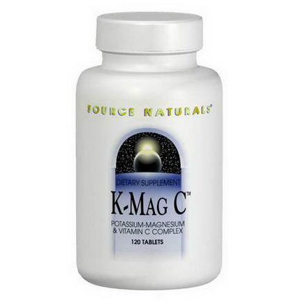 Source Naturals, K-MAG C, 120 Tablets