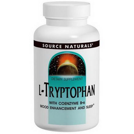 Source Naturals, L-Tryptophan, 500mg, 120 Tablets