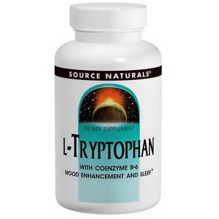 Source Naturals, L-Tryptophan, 500mg, 60 Tablets