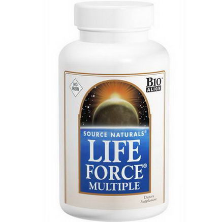Source Naturals, Life Force Multiple, No Iron, 180 Tablets