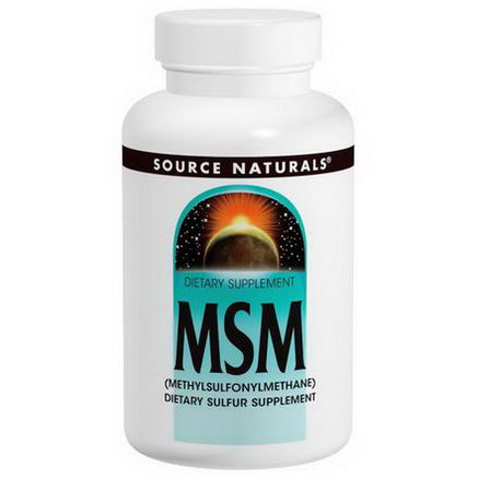 Source Naturals, MSM, 1000mg, 120 Tablets