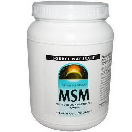 Source Naturals, MSM Powder, 35oz (1000g)