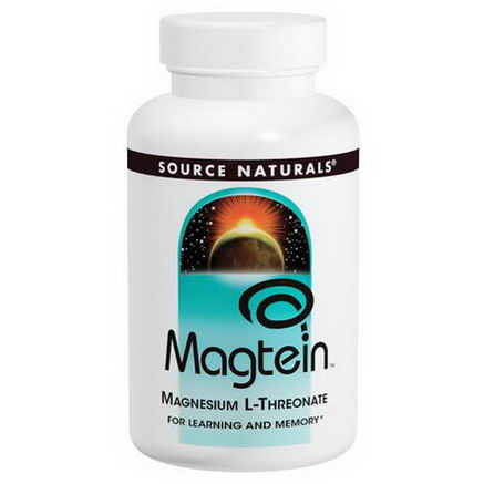 Source Naturals, Magtein, Magnesium L-Threonate, 667mg, 45 Capsules