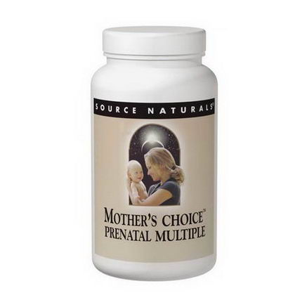 Source Naturals, Mother's Choice, Prenatal Multiple, 120 Tablets & 30 Softgels