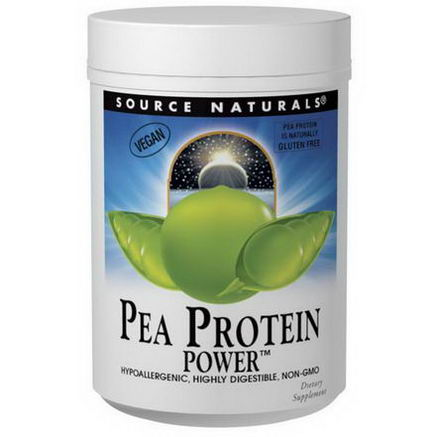 Source Naturals, Pea Protein Power, 32oz (907g)