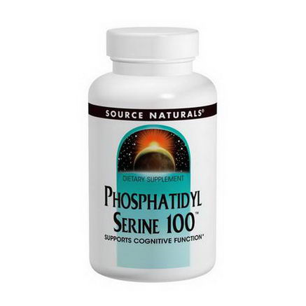 Source Naturals, Phosphatidylserine 100, 100mg, 60 Capsules