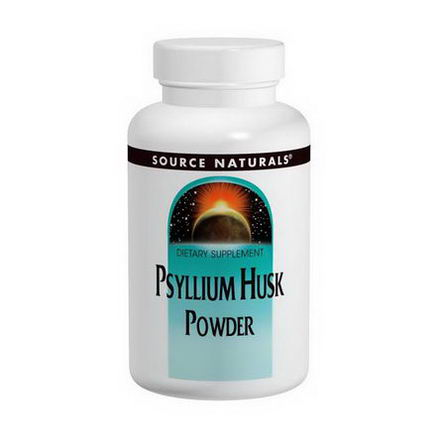Source Naturals, Psyllium Husk Powder, 12oz (340g)