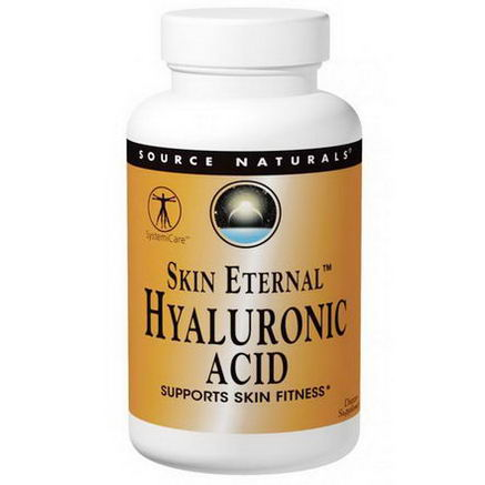 Source Naturals, Skin Eternal, Hyaluronic Acid, 50mg, 120 Tablets