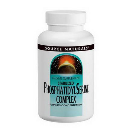 Source Naturals, Stabilized Phosphatidylserine Complex, 500mg, 60 Softgels