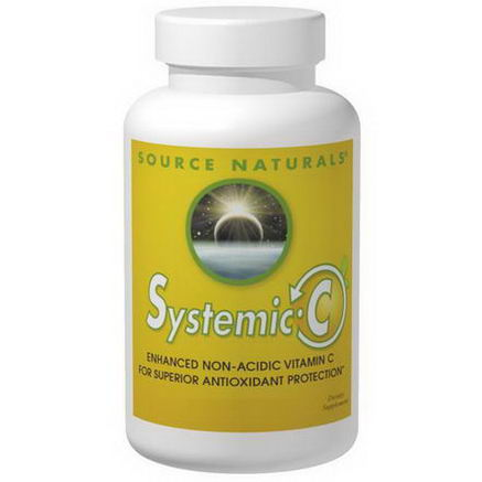 Source Naturals, Systemic C, 1, 000mg, 200 Tablets