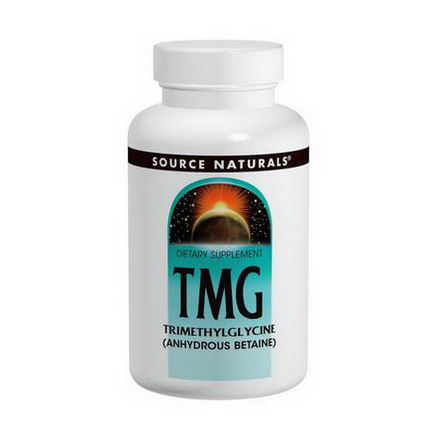 Source Naturals, TMG, Trimethylglycine, 750mg, 240 Tablets