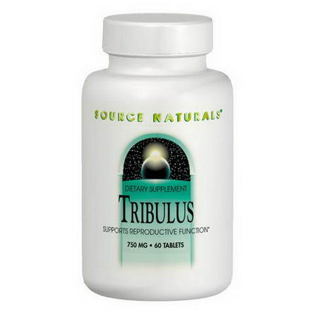 Source Naturals, Tribulus Extract, 750mg, 60 Tablets