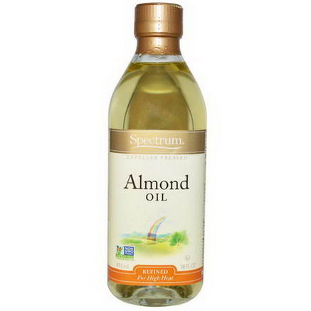 Spectrum Naturals, Almond Oil, Refined, 16 fl oz (473 ml)
