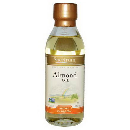 Spectrum Naturals, Almond Oil, Refined, 8 fl oz (236 ml)