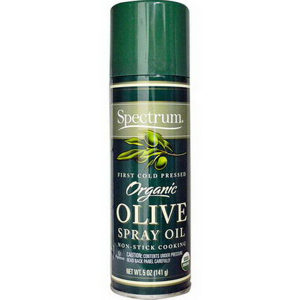 Spectrum Naturals, Organic Olive Spray Oil, 5oz (141g)