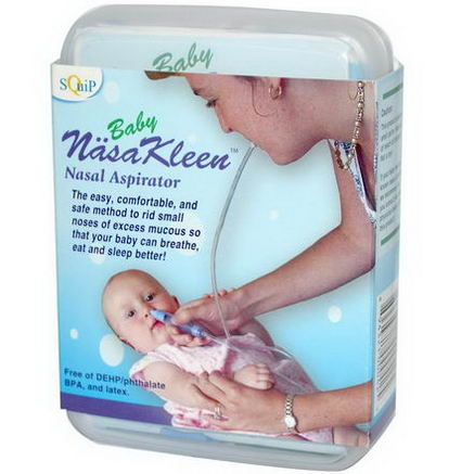 Squip Products, Baby NasaKleen, Nasal Aspirator for Baby Kit