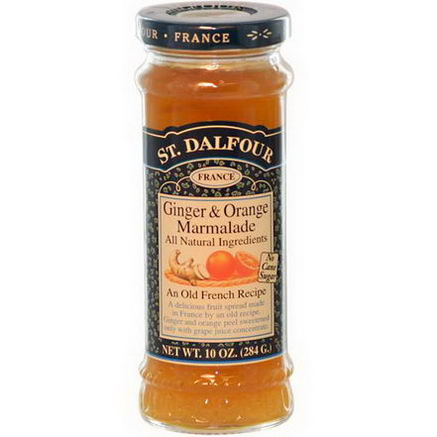 St. Dalfour, Ginger & Orange Marmalade, Fruit Spread, 10oz (284g)