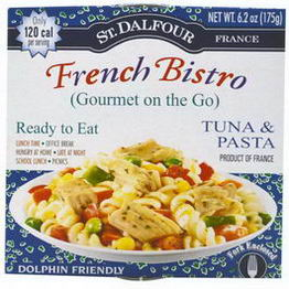St. Dalfour, Gourmet on the Go, French Bristro, Tuna & Pasta, 6 Pack, 6.2oz (175g) Each