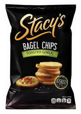 Stacy's, Bagel Chips, Toasted Garlic Flavored, 8oz (226.8g)