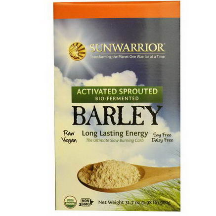 Sun Warrior, Barley, Activated Sprouted, 31.7oz (900g)