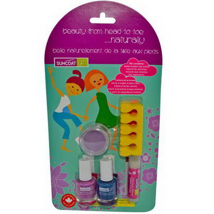 Suncoat Girl, Beauty From Head To Toe. Naturally Kit, Princess, 5 Piece Kit