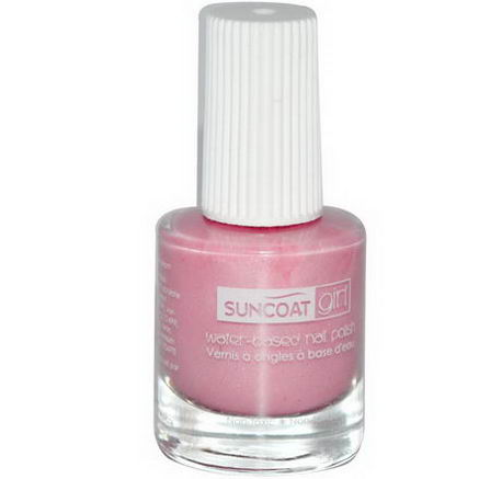 Suncoat Girl, Water-Based Nail Polish, Ballerina Beauty, 0.27oz (8 ml)