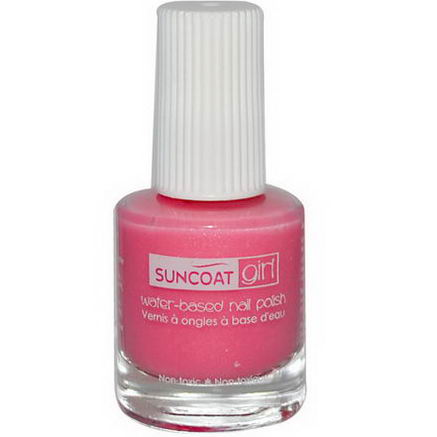 Suncoat Girl, Water-Based Nail Polish, Fairy Glitter 0.27oz (8 ml)